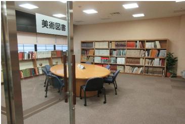 美術図書コーナー